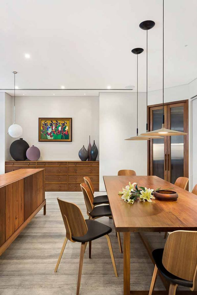 Storage is a recurring demand in most Mumbai homes. All the niches discreetly and cleverly make room for credenzas, chests all around the house instead of tacky cabinets.