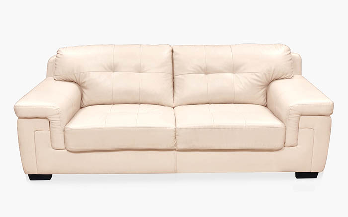 Artificial leather 3-seater sofa home centre