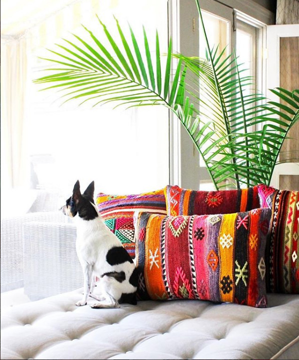 Alyse shows how to create a bohemian living room