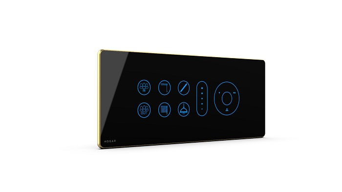 Home automation control panel &smart home device - voice controlled app by HOGAR controls. Available in India
