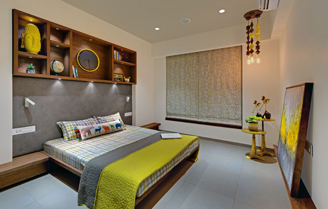 Luxury sample apartment in Gandhinagar by Vipul Patel Architects (VPA)