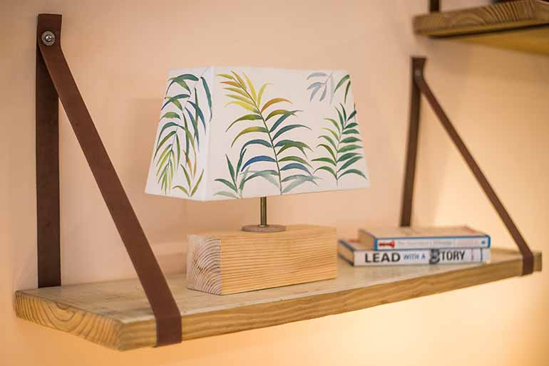 Personalised desk lamps by Zwende