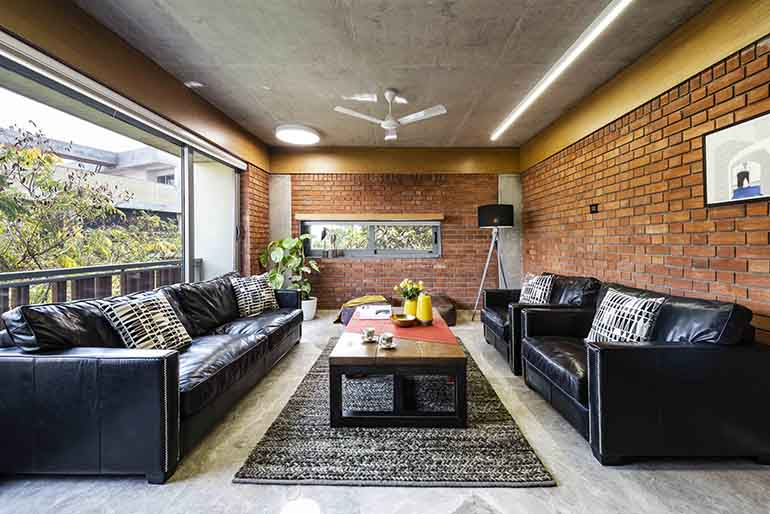 A Warm & Welcoming Brick Apartment