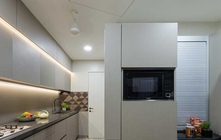 Kitchen designed by Studio Osmosis