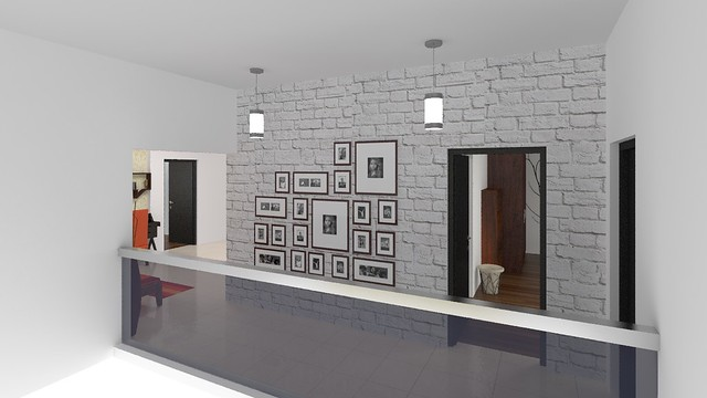 furdo design of gallery wall