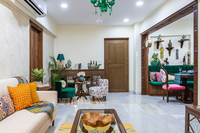 This Apartment is Indian in Spirit and Modern in Outlook