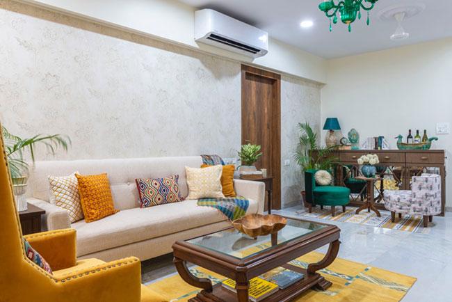 Lovely modern apartment living room