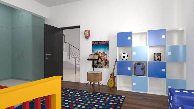 furdo design of kids room