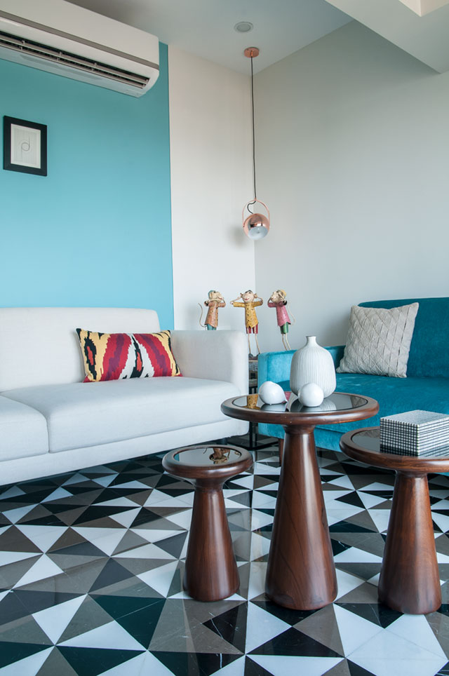 This Mumbai apartment has some of the best ideas for a colourful living room.