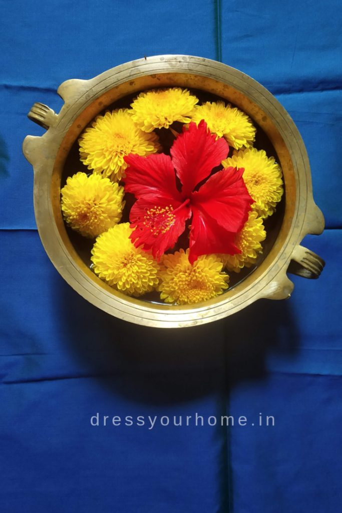 Diwali decoration ideas with flowers