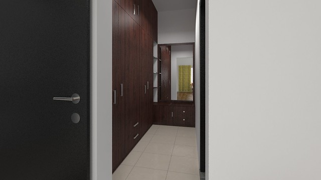 Furdo design of walk in closet