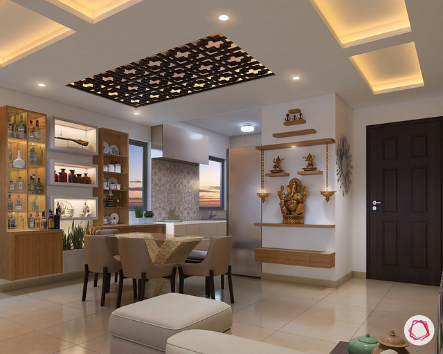 11 Small Pooja Room Designs With Dimensions For Your Home